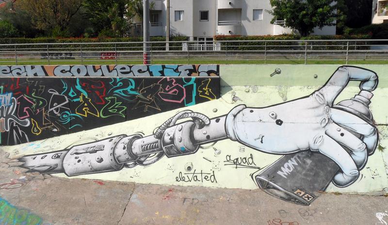 CONCOURS PHOTOS SEPT 16 - Murs détournés : peintures, tags, graffitis - BREAKING NEWS : SWEDE ET FFFF GAGNENT !!! 00511