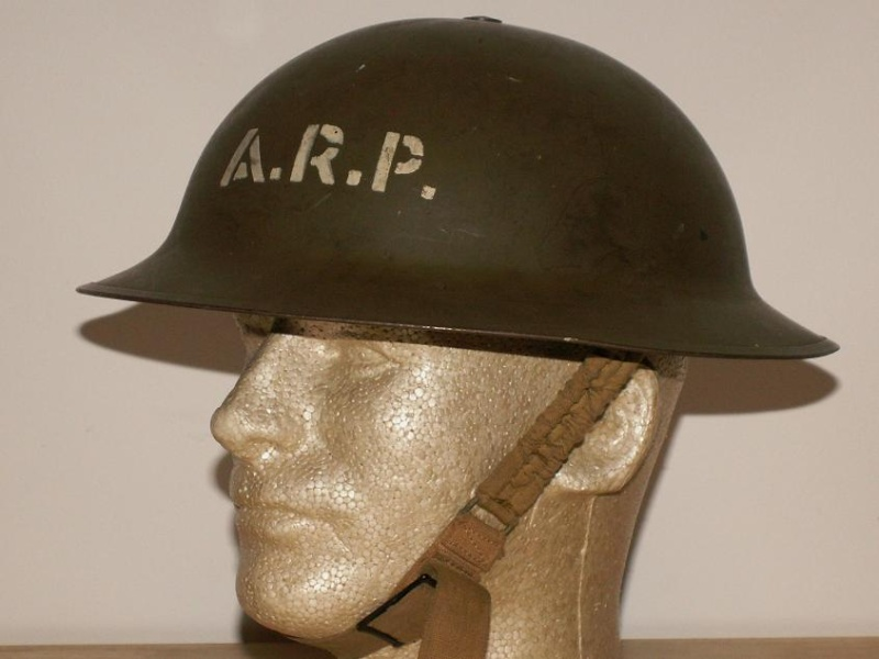 Air Raid Precautions Helmet Arp-pr10
