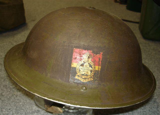 WW II Canadian Helmets Milita10