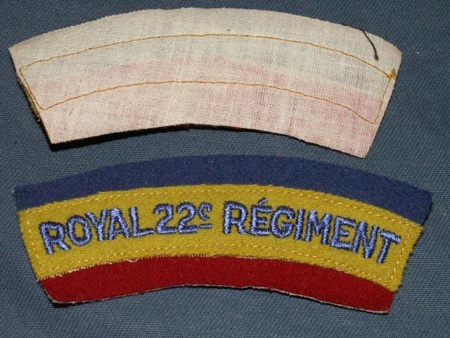 Royal 22e Regiment Shoulder Patches R22er-10