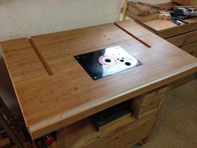 Rénovation table Défonceuse 0210
