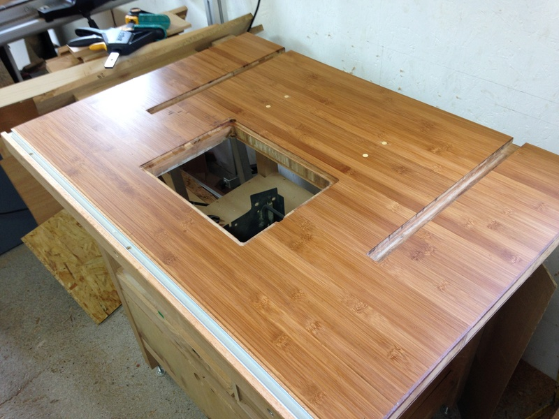 Rénovation table Défonceuse 0311