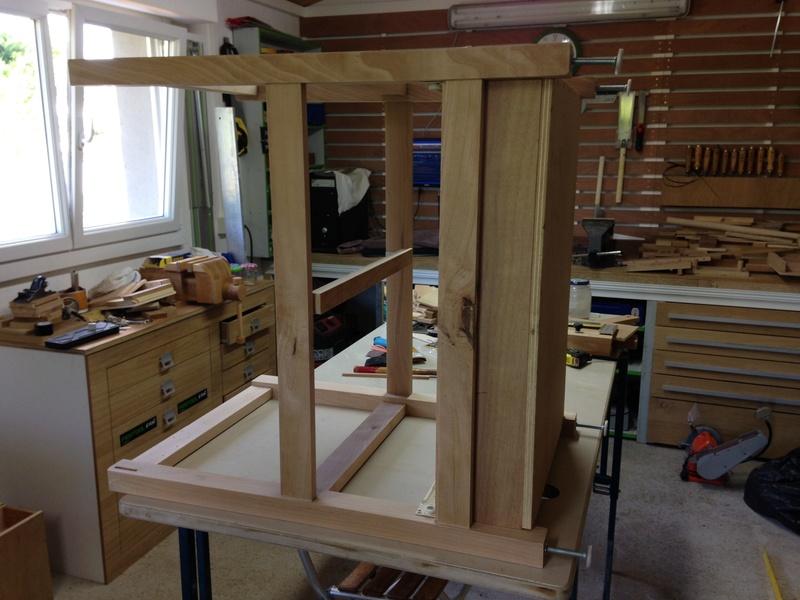 Rénovation table Défonceuse 0512