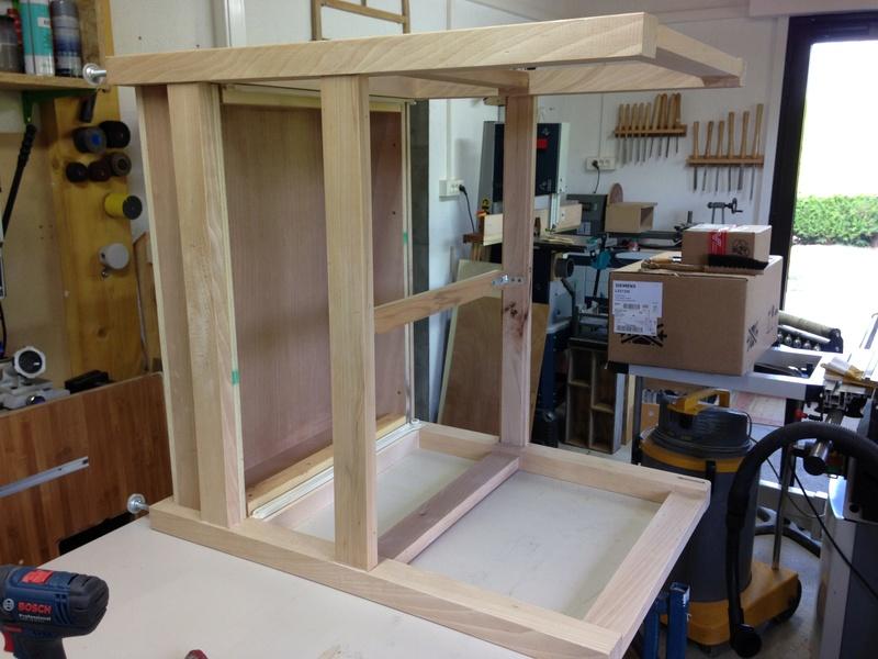 Rénovation table Défonceuse 0610