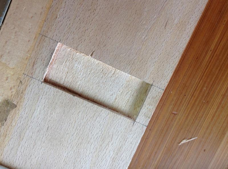Rénovation table Défonceuse 1111