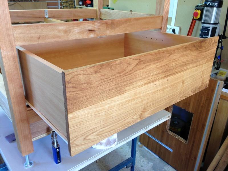 Rénovation table Défonceuse 1512