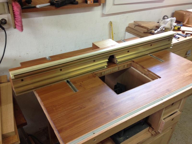 Rénovation table Défonceuse 1611