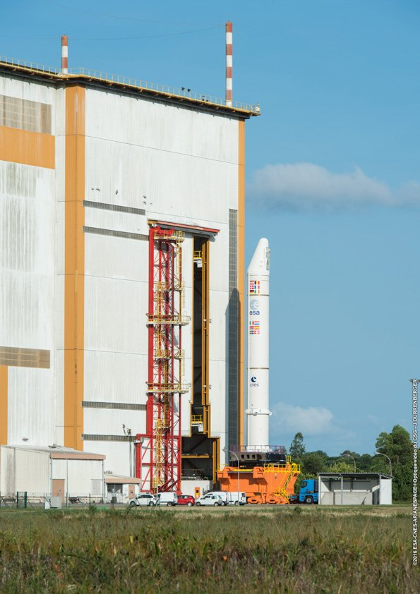 Lancement Ariane 5 ES VA233 / GALILEO (x4) - 17 novembre 2016 Ctqlv910