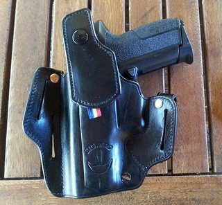 "HOLSTER ""SHADOW LONG SLIDE"" by SLYE  Pour_214"
