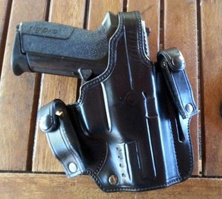 "HOLSTER ""SHADOW LONG SLIDE"" by SLYE  Pour_215"