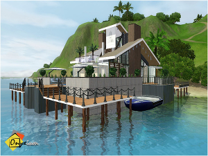 Плавучие, прибрежные дома - Страница 6 Image159