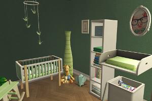 Комнаты для младенцев и тодлеров - Страница 9 Uten_110