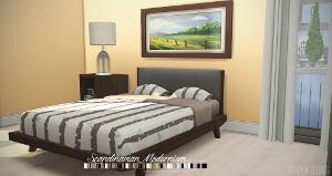 Спальни, кровати (модерн) - Страница 4 Uten_119