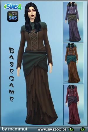 Старинные наряды, костюмы Uten_138