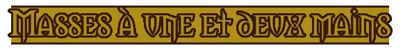 La Griffe du Lion, boutique d'armes Masses10