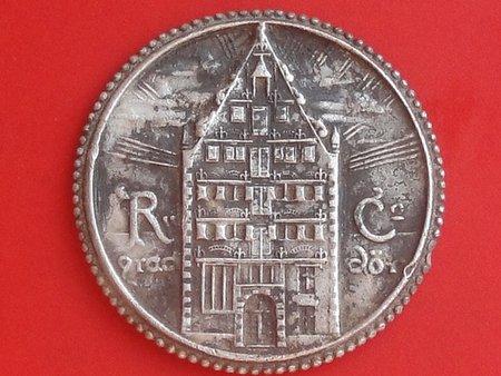 Médaille argent Ville de BREME / Allemagne Dsc00011