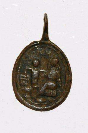 Médaille Vierge de Montserrat - XVII/XVIIIème Dsc_8010