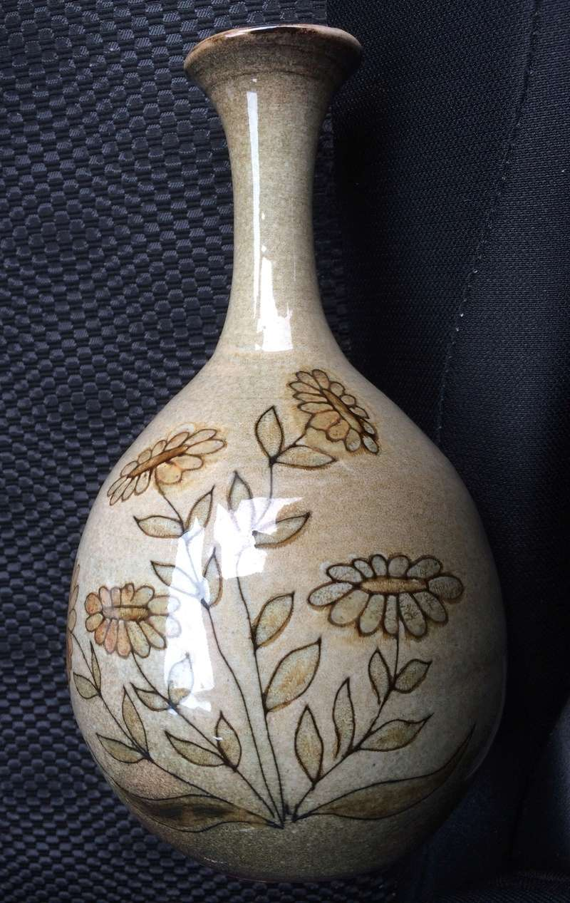 Thistle and Daisies Vase - Nadine and Michel Bailly, France. Image19