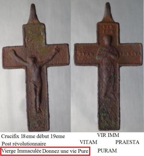 Crucifix pendentif XIX-XXieme siècle Croix_10