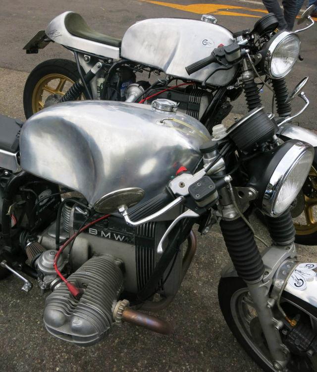 C'est ici qu'on met les bien molles....BMW Café Racer Image42