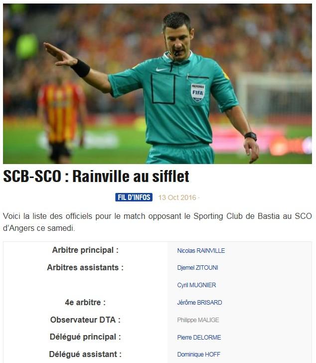 Avant match : Bastia - Angers S41
