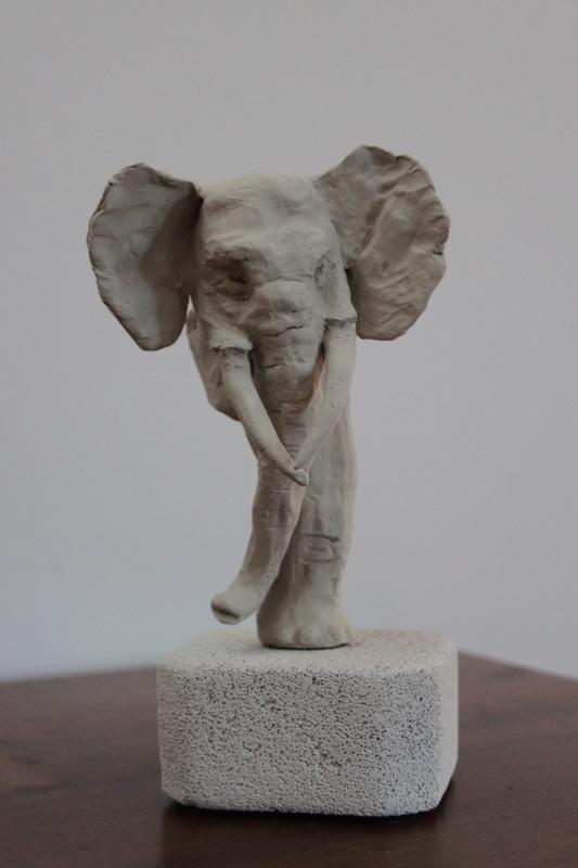Ma première sculpture Elepha12