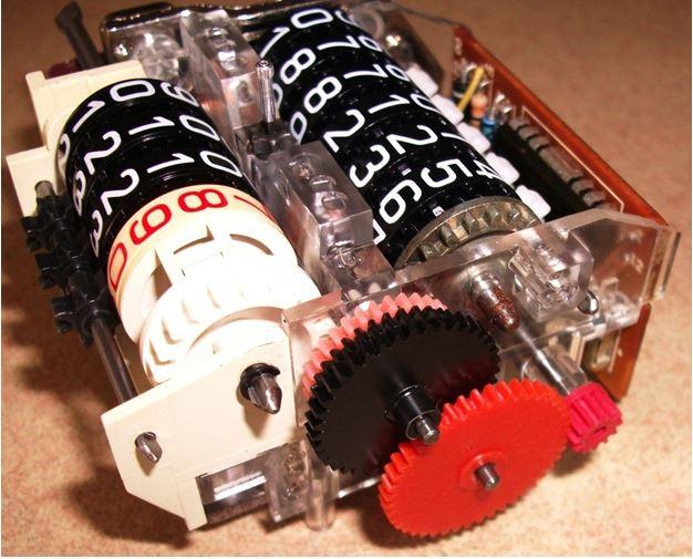Odometer intermittent Gears10