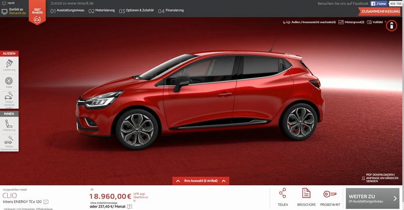 2016 - [Renault] Clio IV restylée Projet11