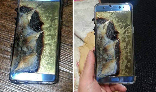 Samsung: La batteria del Galaxy Note 7 può Esplodere! Galaxy10