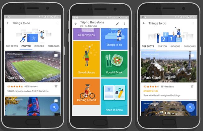 Pianifica i tuo viaggi con Google Trips Screen10
