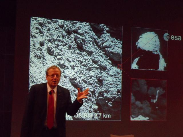 Un astronaute et le directeur de l'ESA à l'école centrale de Lyon. Compte-rendu. Sam_6510