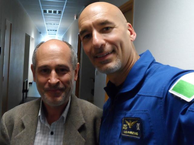 Un astronaute et le directeur de l'ESA à l'école centrale de Lyon. Compte-rendu. Sam_6610