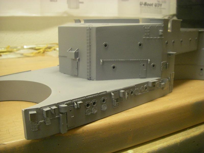 Bau der Bismarck in 1:100  - Seite 2 Imgp8538