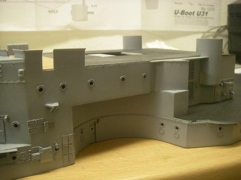 Bau der Bismarck in 1:100  - Seite 2 Imgp8613