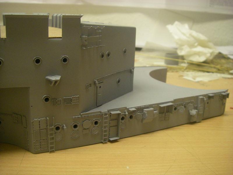 Bau der Bismarck in 1:100  - Seite 2 Imgp8617