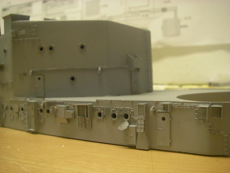 Bau der Bismarck in 1:100  - Seite 2 Imgp8619