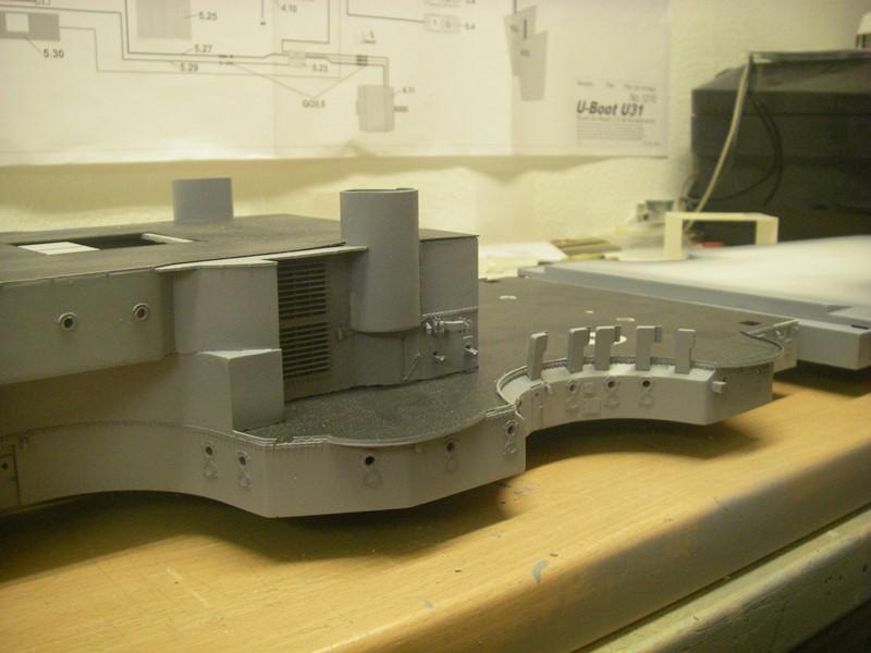Bau der Bismarck in 1:100  - Seite 2 Imgp8645