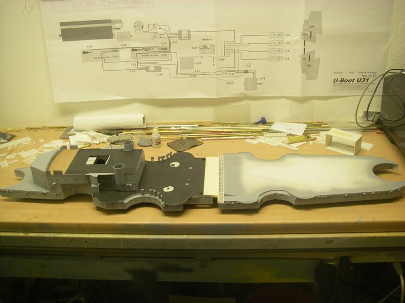 Bau der Bismarck in 1:100  - Seite 2 Imgp8648