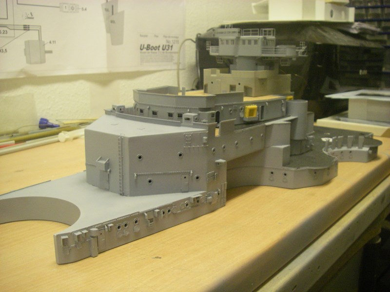 Bau der Bismarck in 1:100  - Seite 3 Imgp8711