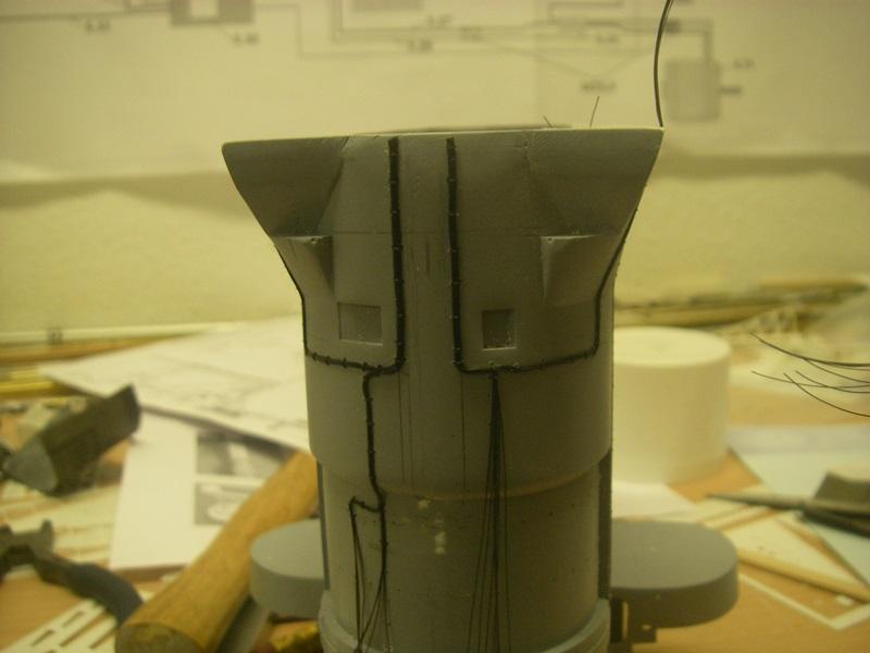 Bau der Bismarck in 1:100  - Seite 3 Imgp8757
