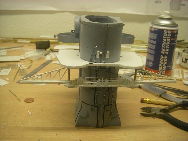 Bismarck 1:100 nur die Aufbauten  - Seite 4 Imgp8779