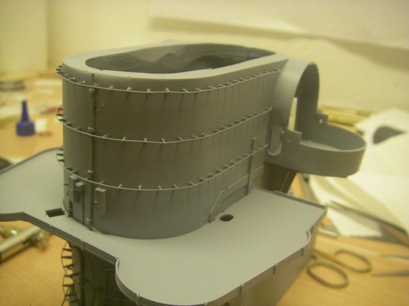 Bismarck 1:100 nur die Aufbauten  - Seite 4 Imgp8814