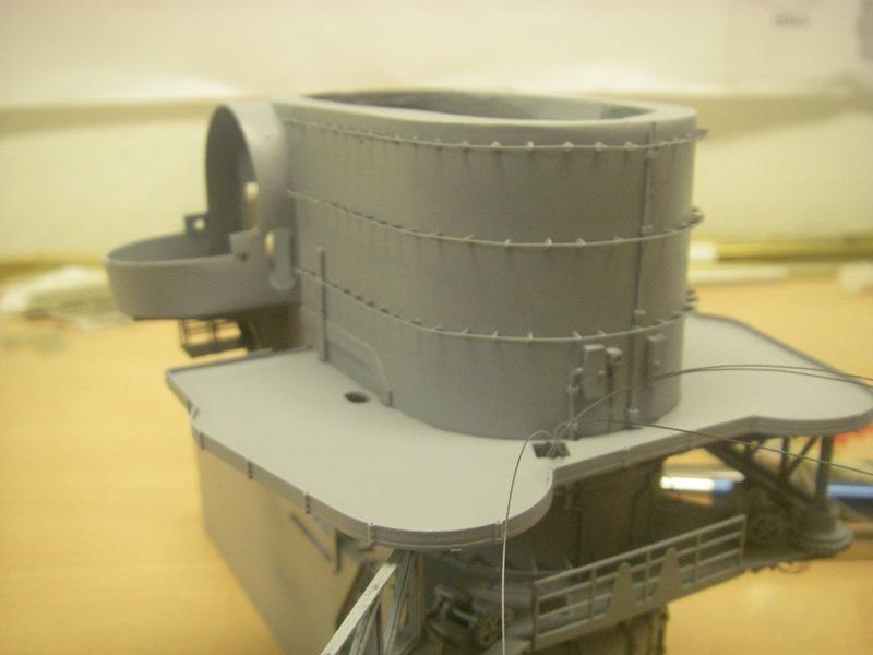 Bismarck 1:100 nur die Aufbauten  - Seite 4 Imgp8822
