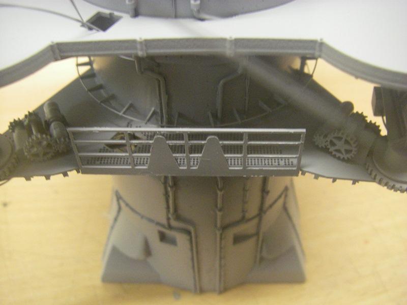 Bismarck 1:100 nur die Aufbauten  - Seite 4 Imgp8824