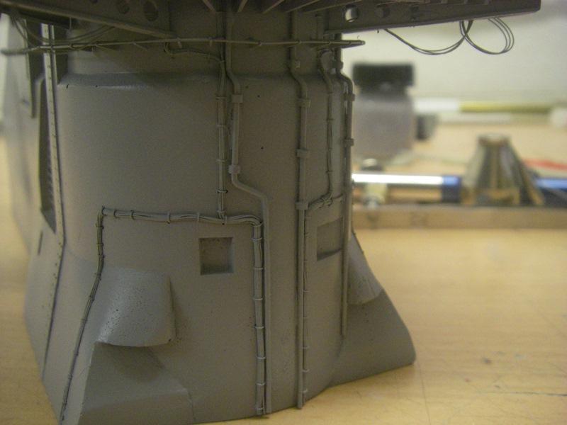 Bismarck 1:100 nur die Aufbauten  - Seite 4 Imgp8826