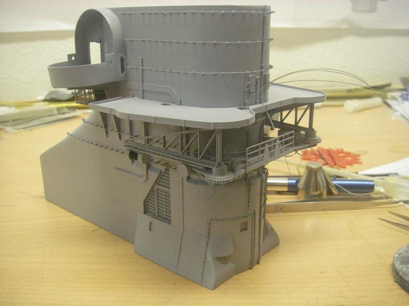 Bismarck 1:100 nur die Aufbauten  - Seite 4 Imgp8828