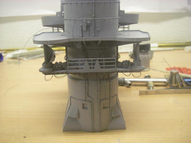 Bismarck 1:100 nur die Aufbauten  - Seite 4 Imgp8830