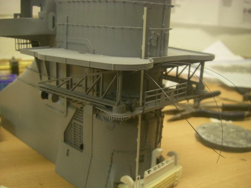 Bismarck 1:100 nur die Aufbauten  - Seite 4 Imgp8836