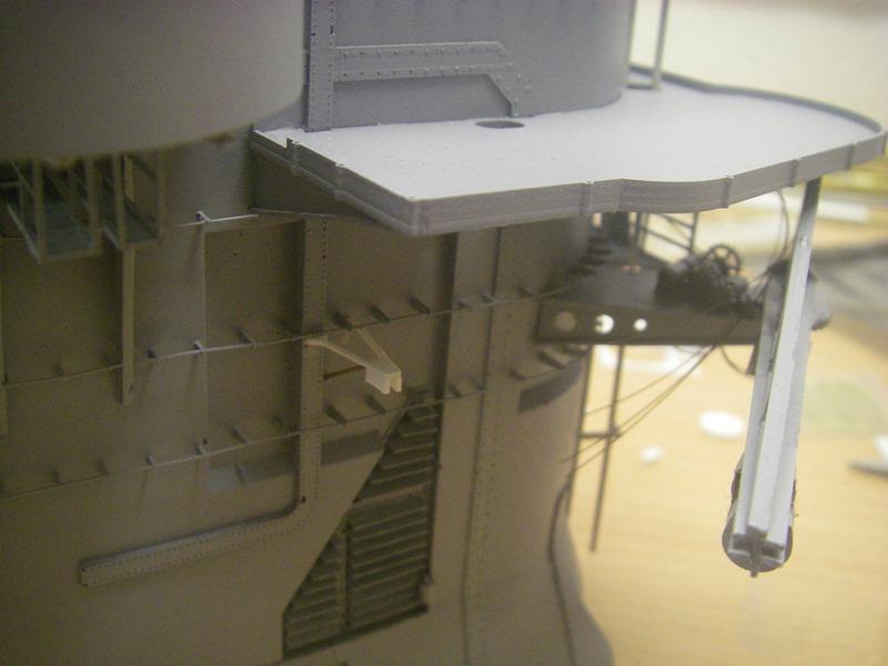 Bismarck 1:100 nur die Aufbauten  - Seite 4 Imgp8853