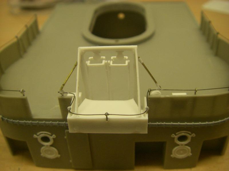 Bismarck 1:100 nur die Aufbauten  - Seite 4 Imgp8911